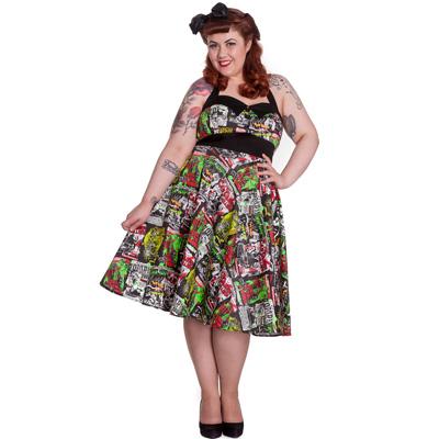 Vestidos para gorditas vintage
