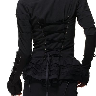 Florence Chaqueta negra con toque victoriano