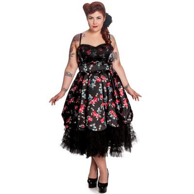 Dark Lady Plus - Vestido gotico en tallas grandes
