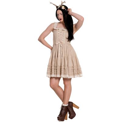 Grace - Vestido estilo ninfa en color beige