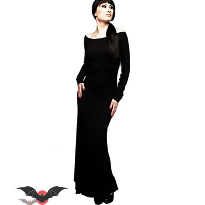 Lilith in black - Vestido gotico largo en negro bf6391ad8510