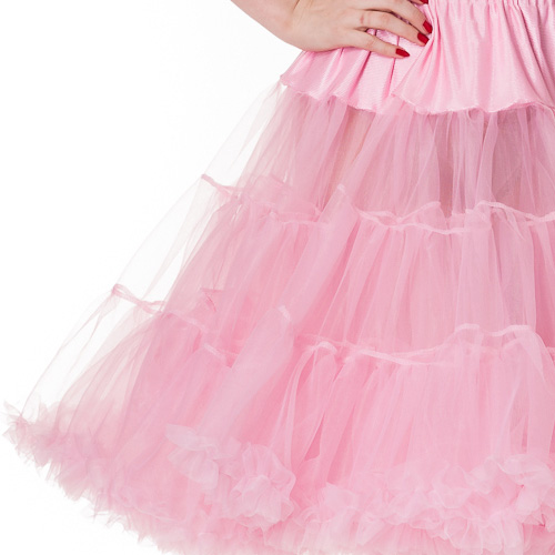 8e308f6a1 Pin up PLUS - Cancan vintage rosa en tallas grandes
