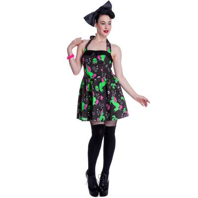I heart zombie - Vestido punk corto