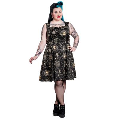 Tabitha PLUS - Vestido steampunk en tallas grandes